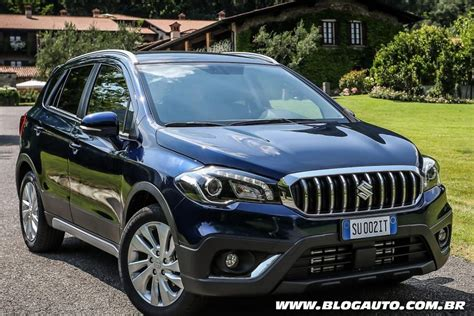 s cross al volante suzuki s cross 2017 adota novo visual e motores turbo