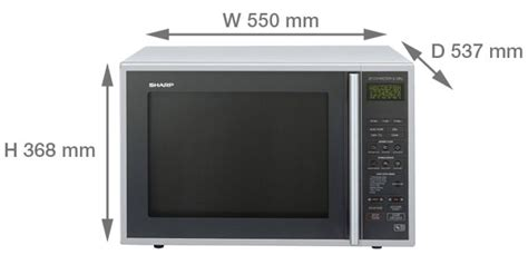Microwave Sharp Second sharp r 959slmaa 40 litre 900w combination microwave