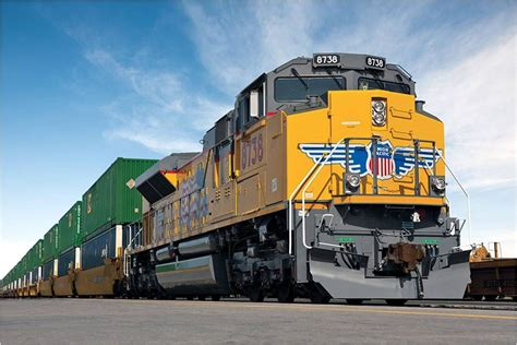 Union Pacific Mba Internship by A Union Pacific Locomotive At Union Pacific Office