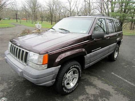 1997 Jeep Grand Laredo Purchase Used 1997 Jeep Grand Laredo With No