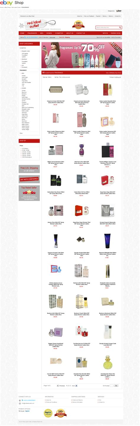 category designs red label outlet ebay shop design enterprise edition