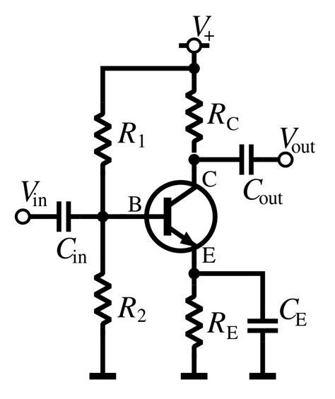 transistor npn common emitter file npn common emitter ac svg