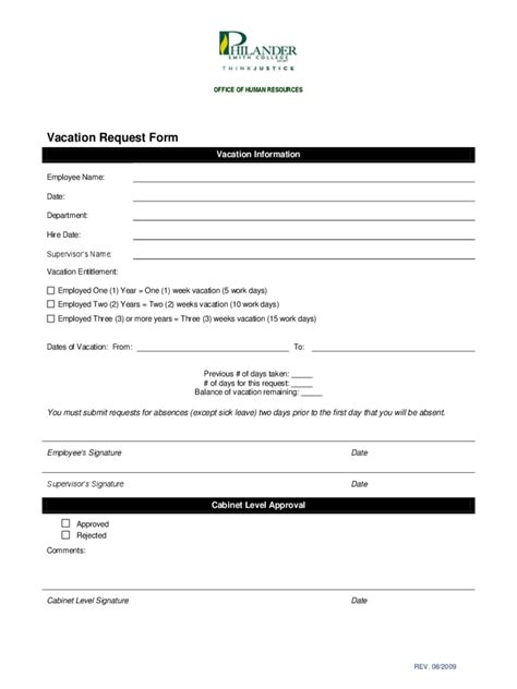 employee vacation request form template employee vacation request form 2 free templates in pdf