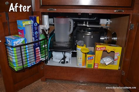 Operation rv organization kitchen diary of a road mom