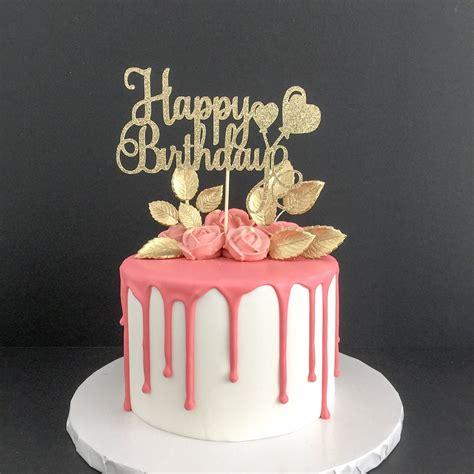 age happy birthday cake topper birthday girl birthday boy personalized birthday