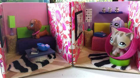 Lps Bedroom by How To Make Lps Living Rooms Dollhouse Diy
