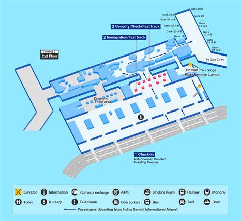 Incheon Airport Floor Plan by India Delhi Airport Map