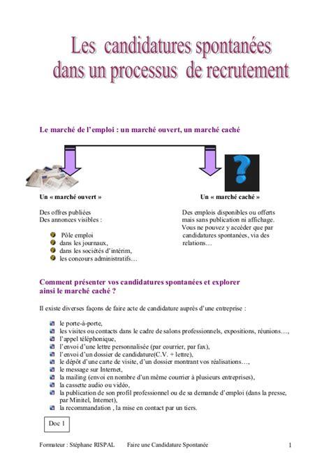 Lettre De Relance Entreprise R 233 Diger Une Lettre De Candidature Spontan 233 E