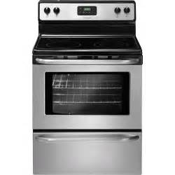Frigidaire Cooktop Manual Frigidaire 30 Quot Stainless Steel Electric Smooth Top Range