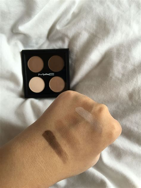 Eyeshadow Quads For Brown mac eyeshadow swatches quot vanilla quot shimmery white