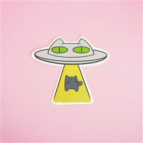 Tokomonster Ufo Takes Cow Wall Decal Sticker Size 23 best abduction products on wanelo