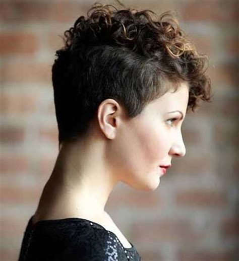hairstyles very short hair 20 very short curly hairstyles hairiz