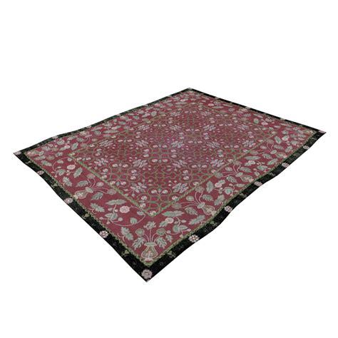 teppich rot schwarz perser teppich rot schwarz einrichten planen in 3d
