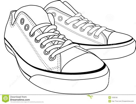 Sepatu Balet Lipat canvas shoes royalty free stock image image 7036166