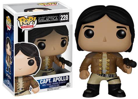 Funko Pop Battlestar Galactica Classic Capt Apollo 228 Vinyl Figure Funko Pop Battlestar Galactica Vinyl Figures Info List