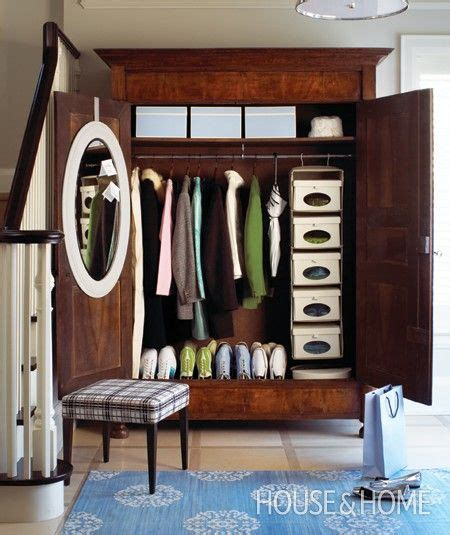 Coat Wardrobe Furniture by Hallway Armoire House Home Remodel