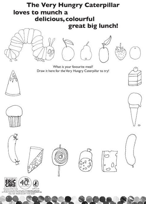 very hungry caterpillar coloring pages pdf 66 best adapted books eric carle images on pinterest