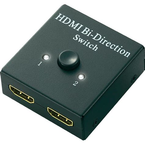 Switch Hdmi 2 ports hdmi switch speaka professional 548324 bidirectional ope from conrad