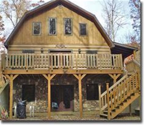 Bulk Barn Red Deer Cabin Design With A Gambrel Roof Www Amishcabincompany
