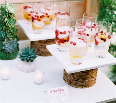 good day catering wedding wednesday beverage stations