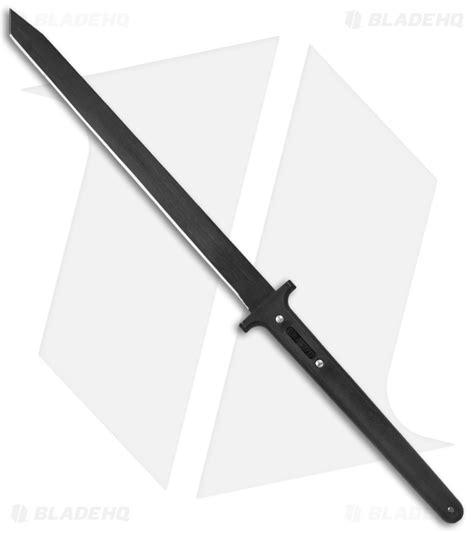 Pedang Samurai Katana Gunto Black Hq Steel cold steel two handed katana machete fixed blade knife 24 quot black 97thkl blade hq
