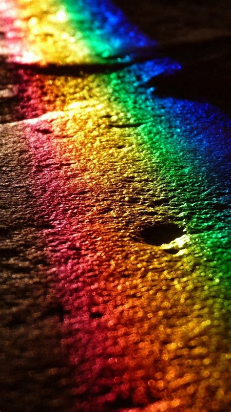 wallpaper for iphone 6 rainbow full hd road rainbow reflection wallpapers free downloads