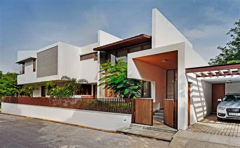 Plan Houses Gallery Of L Plan House Khosla Associates 9