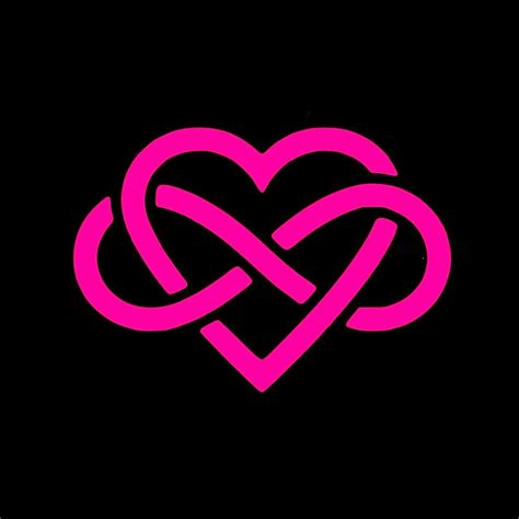 infinity tattoo logo love forever infinity heart vinyl decal stickers