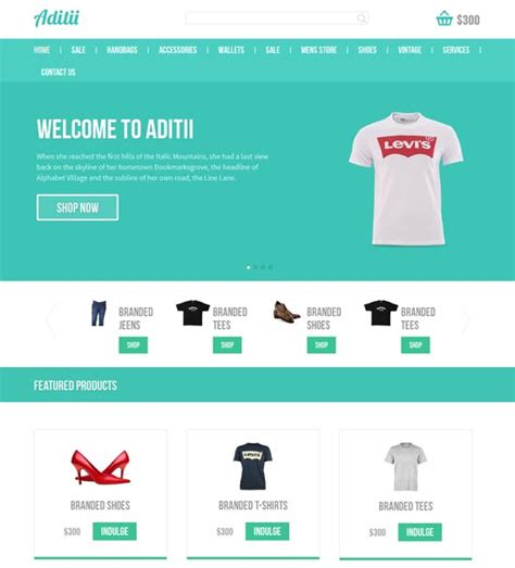free ecommerce site templates 50 best ecommerce website templates free premium