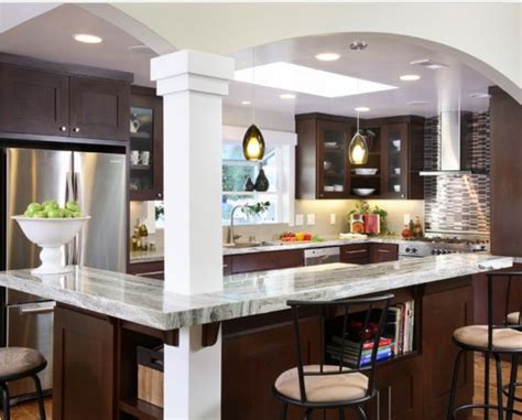 open galley kitchen designs best 25 galley kitchen island ideas on pinterest long