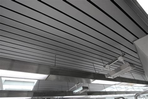 Linear Metal Ceiling metal ceilings mauinc