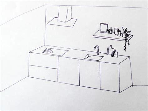 keuken tekening keukenkasten tekeningen