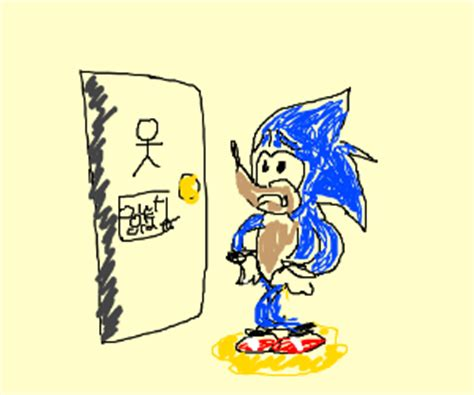 sonic bathroom gotta pee