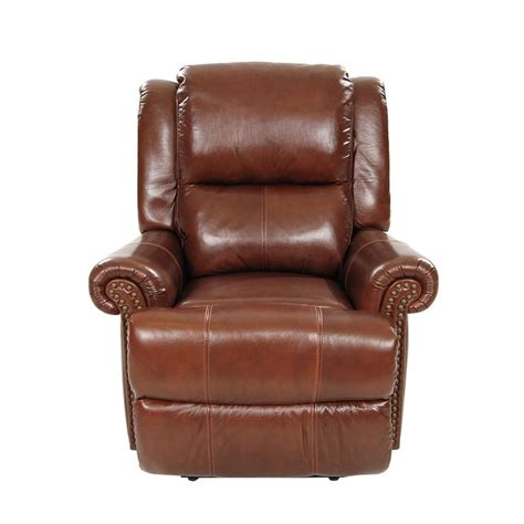 power motion recliner mount brown power motion leather recliner el dorado