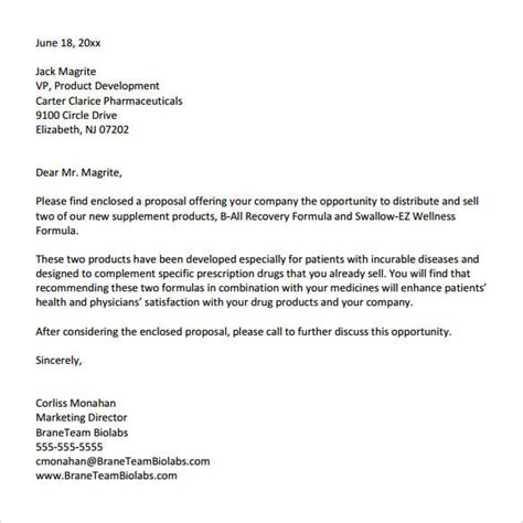 Sle Letter For Research Opportunity 32 Sle Business Letters