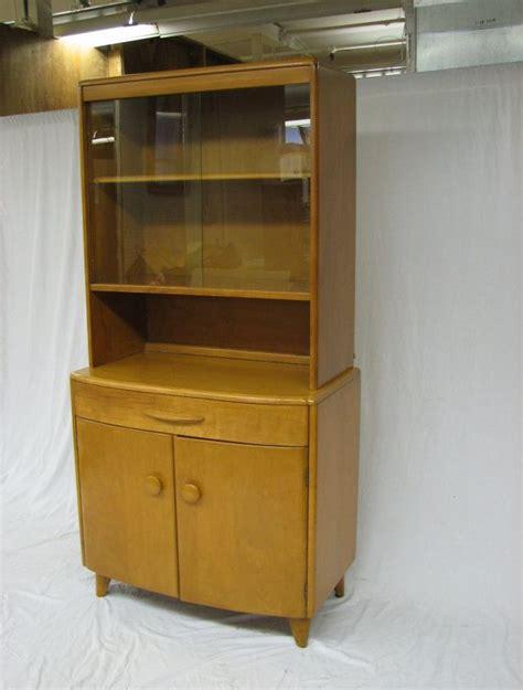 mid century modern heywood wakefield china cabinet