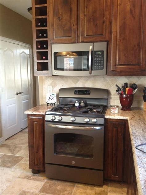 kitchen appliance finishes ge appliances new slate finish great look kitchen
