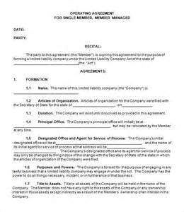 operating agreement llc template free llc operating agreement 8 download free documents in free llc operating agreement templates pdf word