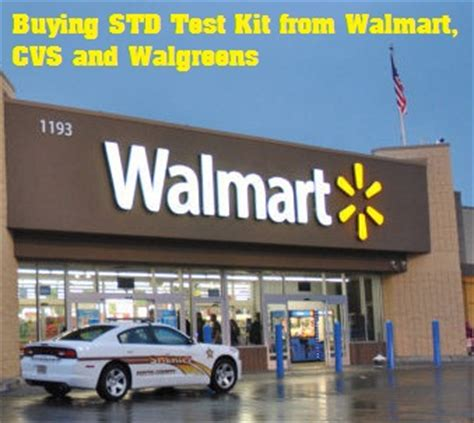 buy std test kits from walmart cvs and walgreens stores