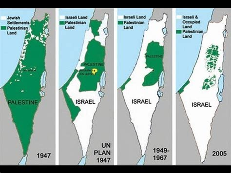 history of the israeli palestinian conflict youtube