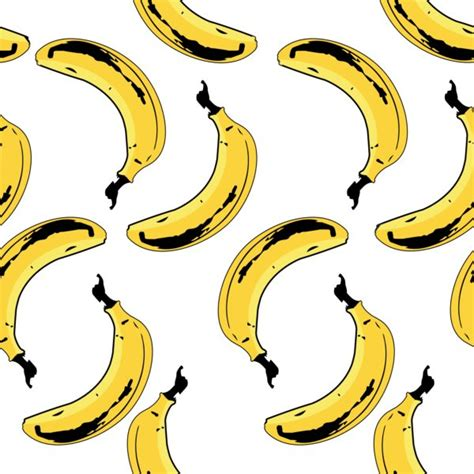 banana vintage wallpaper bananas seamless pattern custom wallpaper