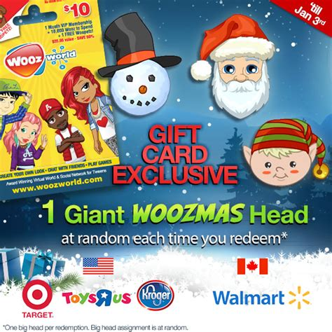Woozworld Gift Cards - woozworld gift card festive update woozworld news