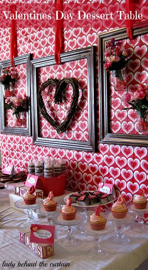 Valentine S Day Table by Valentine S Day Dessert Table