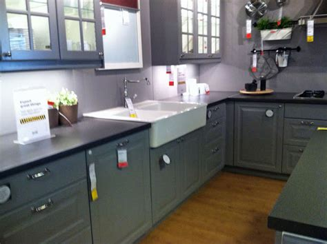 room 6 ikea gray cabinets
