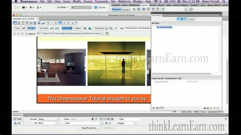 tutorial javascript dreamweaver adobe dreamweaver tutorial html5 css3 lesson how to use