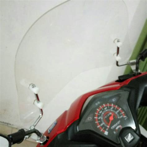 Pelindung Dada Motor Jual Windshield Pelindung Dada Motor Matic Dan Bebek