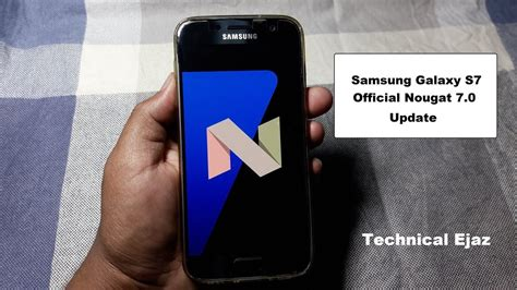 0 Samsung S7 by Samsung Galaxy S7 S7 Edge Official Nougat 7 0 New Software