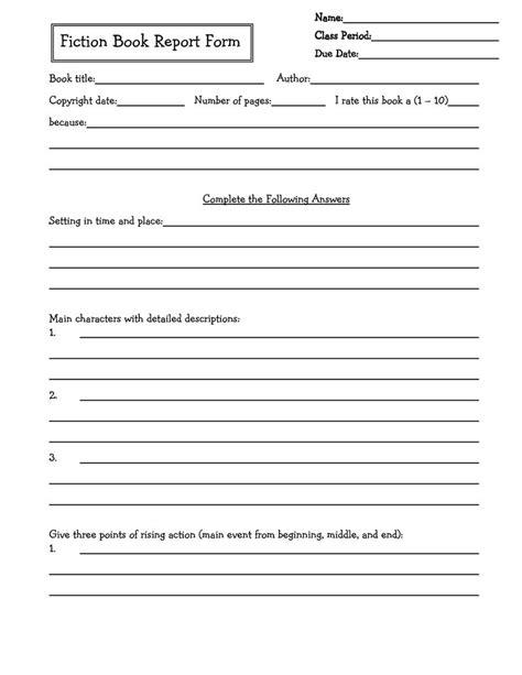 6th grade book reports middle school book report brochure 6th grade 7th grade