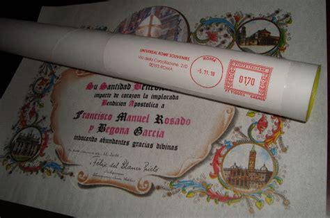 ufficio pergamene della elemosineria apostolica vuoi ricevere una benedizione personale da papa francesco