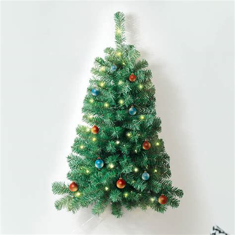 3 lighted wall christmas tree wall tree walter drake